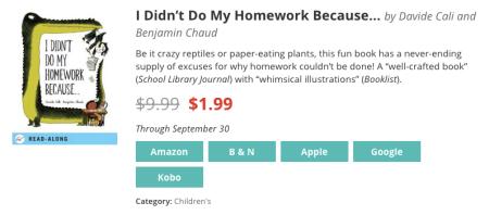 I Didn't Do My Homework Because... - September 26 (site)